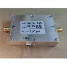 AMP-3G-0.5W Small Broadband RF Power Amplifier 10K-3G Gain 22DB 0.5W Low Noise For Signal Generators