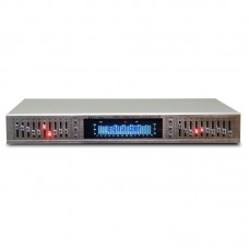 HIFI Digital HD Stereo 10-Band Graphic Equalizer Preamplifier Equalizer Built-in USB Bluetooth Home Stage Equalizer
