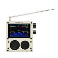 "Hifi Audio 50KHz - 2GHZ MALAHIT SDR DSP SDR Receiver SDR Radio AM/SSB/NFM/WFM w/ Speaker 3.5"" Screen"
