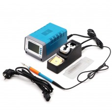 110V Intelligent T12-11 Digital Lead free Soldering Station with Soldering Iron tip for Phone Motherboard PCB Welding Repair