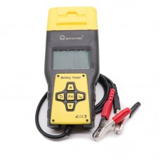 BA1000 Car Battery Tester 12V/24V Vehicle Battery Tester Analyzer w/ Built-in Printer Multi-Language