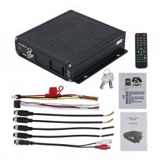 Car DVR Audio Video Recorder AHD 4CH Real-time Car DVR Digital Video Recorder + Remote 12V