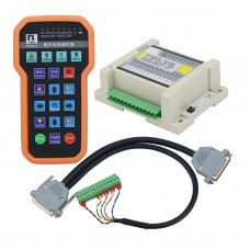 F1510-T Wireless Remote Controller + Receiver + Connection Cable For CNC Cutting Fangling System
