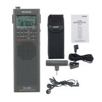 For Tecsun PL-365 Full Band Radio Digital Demodulation DSP Radio Receiver Single Sideband Grey