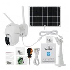 Q5-4G Solar Camera Security Camera Dome Camera Outdoor PTZ Camera Remote Monitoring Alarm HD Video
