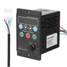 400W AC220V Multifunctional Motor Speed Controller Motorspeed Regulator Controller Display Rate Target Value Settable