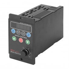 220V Single-phase Input Three-phase Output Motor Driver Frequency Converter with Four-digit Digital Tube Display SVPWM