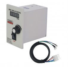 UX-A-52 400W AC 220V Digital Display Speed Controller Motor Speeds Pinpoint Regulator Control Device ABS