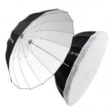 "Godox UB-130W Parabolic Umbrella Studio Reflective Umbrella Black White Umbrella 130M/51.2"""