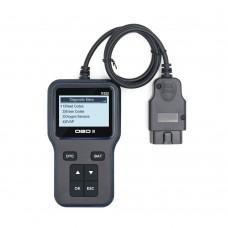 V322 OBD2 Tester Automobile OBD2 Scanner OBD2 Diagnostic Tool Instrument w/ 128*64 Pixel Display