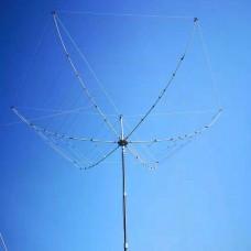JPC-6 HEXBEAM Portable Antenna Kit 6-Band Spider-Web Base Antenna 20M/17M/15M/12M/10M/6M Bands