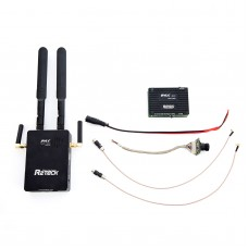 R2TECK RC Transmitter Receiver RC TX RX 1080P/720P Digital Video System For Video Images OSD Info