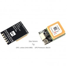 MATEKSYS SAM-M8Q GPS Module Kit 72-Channel For RC FPV Racing Drone Fixed Wing Drone DIY Uses