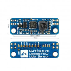 MATEKSYS 3901-LOX Optical Flow Lidar Sensor For F4 F7 Flight Controller Fixed Height Hovering Flight