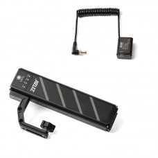 TZT ZB-H72 SLR Camera Battery Grip With DC To FW50 Dummy Battery Accessories For A7R2/A7M2/A7S3