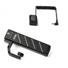 TZT ZB-H72 SLR Camera Battery Grip With DC To FZ100 Dummy Battery Accessories For A7M3/A7S3/FX3