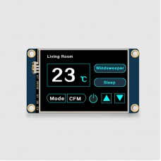 Nextion NX3224T024 2.4-Inch Resistive Touch Screen Display Touch Panel HMI Display Basic Version
