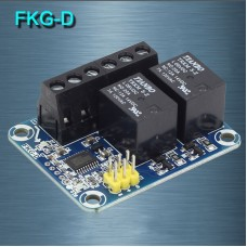 FKG-D Dual-Channel Relay Electronic Switch 20A Mechanical Contact Suitable For RC Remote Control