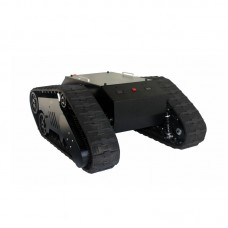 TS5.0 Assembled Field Tank Chassis Load Capacity 100KG+ w/ Controller For ROS Patrol Fire Fighting