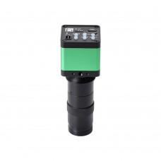 30MP Monocular Microscope Camera Digital Camera 130X Adjustable Lens For PCB Soldering Phone Repair