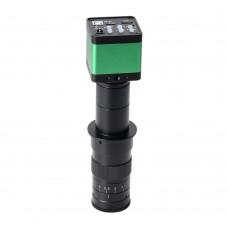 30MP Monocular Microscope Camera Digital Camera 180X Adjustable Lens For Phone Repair PCB Soldering