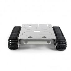 GFS Robot Tank Chassis Car Chassis Stainless Steel Multifunctional Car Body DIY Load 3KG For Lego