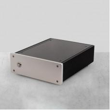 LGS108 Hifi Audio Gigabit Switch 8-Port Ethernet Switch Full Linear DC Power Supply SC Cut OCXO