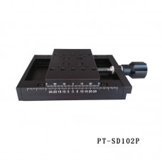 PT-SD102P X Axis Manual Linear Stage 50mm Translation Stage Manual Platform Optical Sliding Table