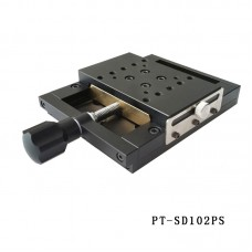 PT-SD102PS X Axis Manual Linear Stage 50mm Translation Stage Manual Platform Optical Sliding Table