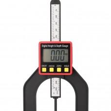 0-80mm 0.01mm Digital Height Depth Counting Depth Meter Woodworking Gauge Altimeter Ruler Caliper Wood Working Measuring Tools