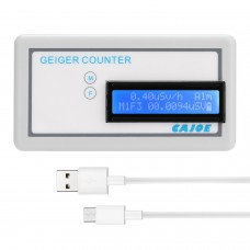 GMV2 Portable Handle Geiger Counter Assembled Nuclear Radiation Detector γ β X Ray with Tube Radiation Dosimeter