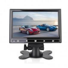 """CAR7005AHV 7"""" Desktop Monitor Display 1024*600 AV/HDMI/VGA Touch Button Reversing Video Surveillance"""
