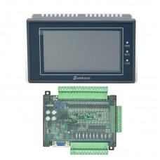 "Samkoon EA-043A 4.3"" HMI Touch Screen + FX3U-24MT w/ Shell PLC Control Board Programmable Controller"