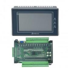 "Samkoon EA-043A 4.3"" HMI Touch Screen + FX3U-32MT PLC Control Board Programmable PLC Controller"
