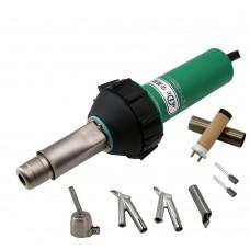 HLT-D16 1600W Plastic Welder Plastic Welding Gun Kit For PVC Floor PP PE Water Tank Geomembrane