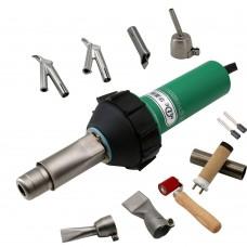 HLT-D16 1600W Plastic Welder Gun Set Plastic Welding Kit For PVC Coiled Material Plastic Floor PEPP