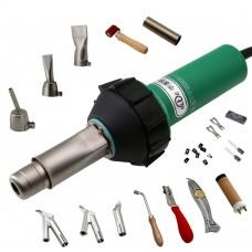 HLT-D16 1600W Plastic Welding Kit Plastic Welding Gun Set For PVC Coiled Material Plastic Floor PEPP