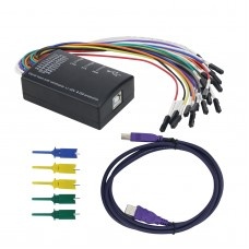 Mini 16 Logic Analyzer USB 100M Max Sample Rate 16CH Version 1.1.34 Support 1.2.10 Software