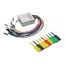 USB Logic Analyzer 100MHz 16Ch Logic Analyzer With Aluminium Alloy Shell For ARM FPGA H2-002