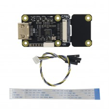 HDMI To CSI-2 Adapter Supports Audio Video 1080P 60FPS C780A w/ 2 CSI-2 Channels For Raspberry Pi