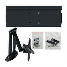 60cm Aluminum Keyboard Mouse Tray Rotary Holder Wall Mounted Keyboard Stand Bracket For Simracing MOD Racing Game Simulator