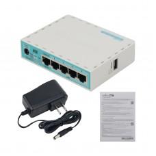 MikroTik RB750Gr3 Hex ROS 5-Port Mini Router 5x1000Mbps Ports RouterOS L4 Gigabit Ethernet Router