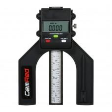 Professional Measuring Tool Portable Digital Depth Gauge 0-80mm Depthometer Depth Indicator Height Gauge for Woodworking