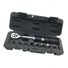 "Wisretec 1/4""DR 2-14Nm Bike Preset Adjustable Torque Wrench Set Bicycle Repair Tools kit Ratchet Mechanical Torque Spanner"