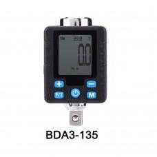 """BDA2-135 Electronic Digital Torsion Spanner Adapter Tool Steel Wrench Socket Torsion Measuring Meter 3/8"""" Torque Tester"""
