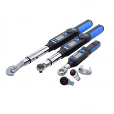 Electronic Digital Display Torque Wrench Adjustable Open End Torque 17-340nm Torque with Ratchet Head