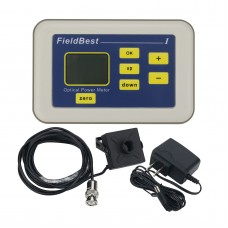 FieldBest Optical Power Meter OPM 10UW-100MW Photoelectric Type Laser Power Meter With Probe