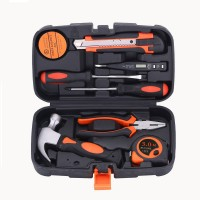 JT-2 9PCS Household Electrical Tools Electrician Tool Set Repair Tool Kit With Plastic Tool Case