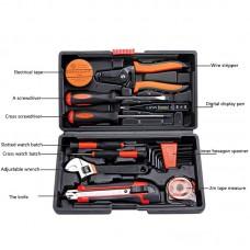 JT-2 20PCS Fiber Optic Tools Telecom Tools Kit Home Tool Set Repair Tool Kit With Plastic Box