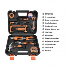 Solude STT-012P Home Tool Kit Hand Tool Set Electrician Tools Set With Tool Box Easy Storage